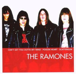Essential (Ramones album) - Image: Ramones Essential cover