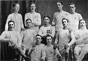 Rangers F.C. - The 1877 Scottish Cup Final Rangers team