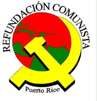 Socialist Front (Puerto Rico) - Image: Refundación Comunista logo