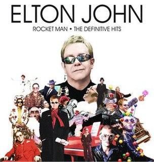 <i>Rocket Man: The Definitive Hits</i> 2007 greatest hits album by Elton John
