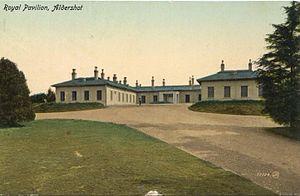 Royal Pavilion, Aldershot - The Royal Pavilion in 1905