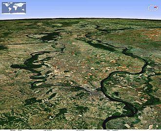 Ruma - View northwesterly of Ruma vicinity