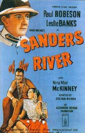 Sanders of the River - Film poster