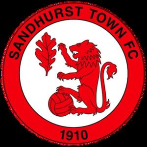 Sandhurst Town F.C. - Image: Sandhurst Town F.C. logo