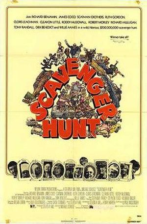 Scavenger Hunt - Scavenger Hunt film poster