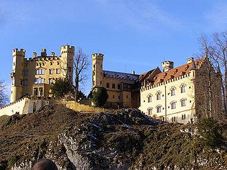 Maximilian II of Bavaria - Hohenschwangau Castle