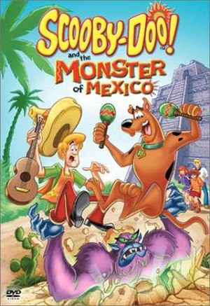 Scooby-Doo! and the Monster of Mexico - DVD cover