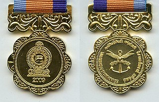 Sewabhimani Padakkama Sri Lankan military Meritorious Service Medal