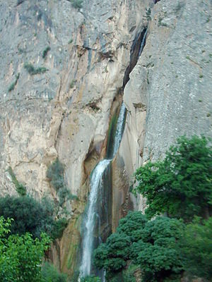 Amol County - Shahandasht Waterfall