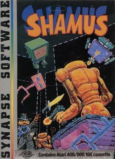 <i>Shamus</i> (video game) 1982 video game