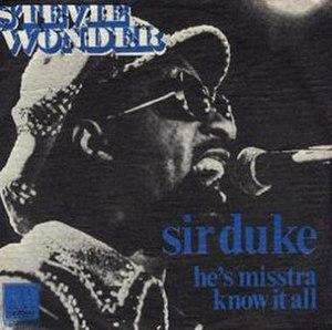 Sir Duke - Image: Sir Duke 45