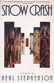 <i>Snow Crash</i> science fiction novel by Neal Stephenson