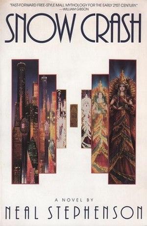 Snow Crash - Cover of the U.S. paperback version