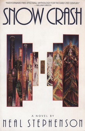 Snow Crash - Cover of the U.S. paperback version