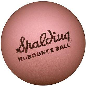 Bouncy ball - a modern-day Spaldeen