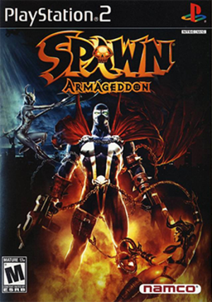 Spawn: Armageddon - North American PlayStation 2 cover art