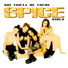 "Résultat de recherche d'images pour ""cd single spice girls say you'll be there france"""