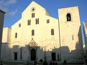 Saint Nicholas - Basilica di San Nicola in Bari, Italy where most of the relics of Saint Nicholas are kept today.