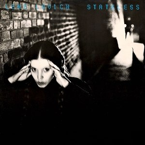 Stateless (Lene Lovich album) - Image: Stateless Cover