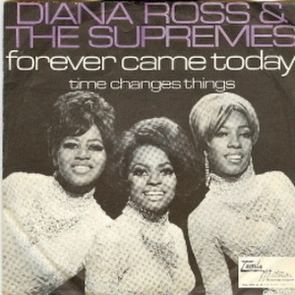 Forever Came Today - Image: Supremes Forever Came Today