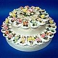 Porcelain Cake Box