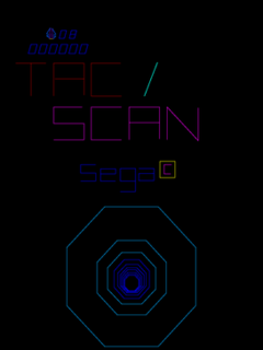 <i>Tac/Scan</i> 1982 video game