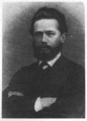 Symphony No. 1 (Tchaikovsky) - Tchaikovsky at the time he wrote his first symphony