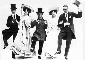 The Orchid - Fausset, Violet, Meakin, Josephine and Guy in the Wedding Dance