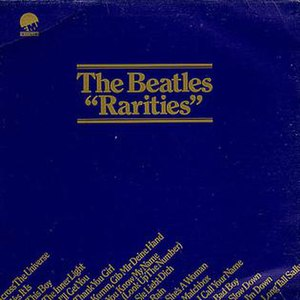 Rarities (Beatles compilations) - Image: The Beatles Raritiesalbumcover