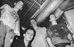 The Proletariat's original lineup, left to right: Tom McKnight, Frank Michaels, Peter Bevilacqua, and Richard Brown.