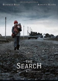 <i>The Search</i> (2014 film) 2014 French drama film directed by Michel Hazanavicius