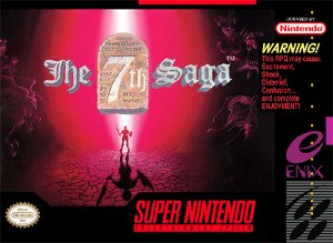 The 7th Saga - North American cover art