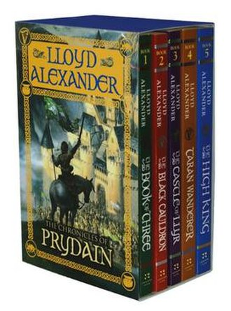The Chronicles of Prydain - A complete set of The Chronicles of Prydain