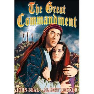 The Great Commandment - Image: The Great Commandment DVD cover
