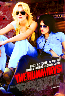 <i>The Runaways</i> (film) 2010 American drama film directed by Floria Sigismondi