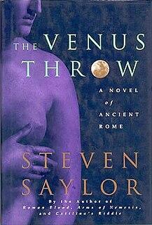 <i>The Venus Throw</i> book by Steven Saylor
