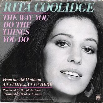 The Way You Do the Things You Do - Image: The Way You Do the Things You Do Rita Coolidge