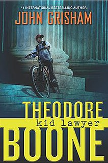 <i>Theodore Boone: Kid Lawyer</i> novel by John Grisham