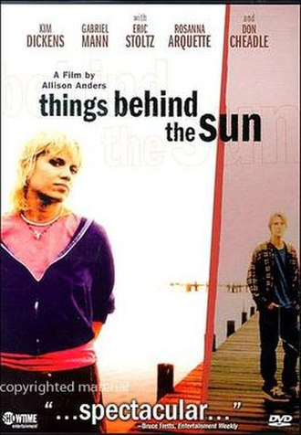Things Behind the Sun - DVD cover