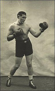 Tommy Davies Wales boxer