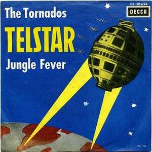 Telstar (instrumental) - Image: Tornados telstar german sleeve