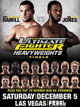 The Ultimate Fighter: Heavyweights - Image: Tuf 10 finale newsletter poster