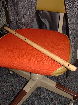 Tumpong - A tumpong, a Philippine bamboo flute of the Maguindanaon people