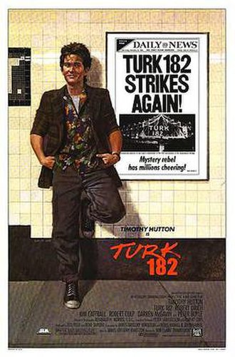 Turk 182 - Promotional poster for Turk 182!
