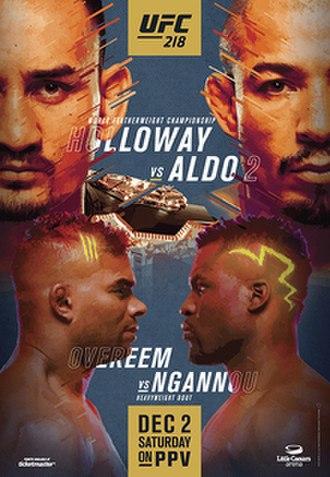 UFC 218 - Image: UFC 218 event poster
