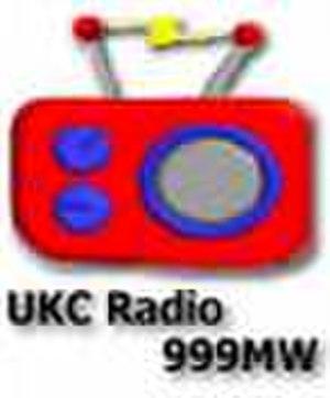 UKC Radio - UKCR logo from the 999kHz days