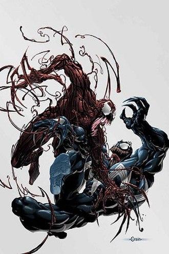 Symbiote (comics) - Image: Venom vs. carnage