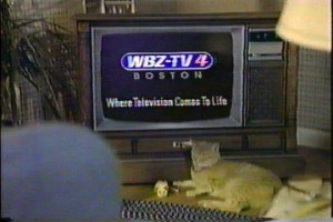 WBZ-TV - Screengrab of WBZ-TV 4 promo from 1989