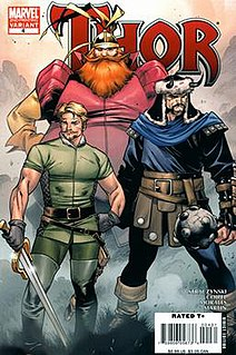 Volstagg comic book character