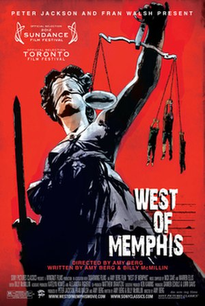 West of Memphis - Theatrical release poster